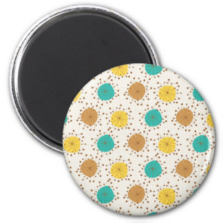 Abstract Floral jpg Refrigerator Magnets