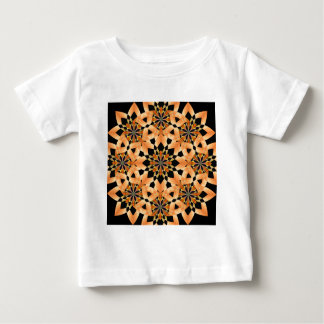 abstract Floral Kaleidoscope Infant T-Shirt