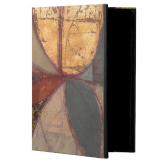 Abstract Floral Leaf Painting by Norman Wyatt iPad Air Covers