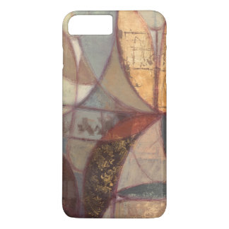 Abstract Floral Leaf Painting by Norman Wyatt iPhone 8 Plus/7 Plus Case