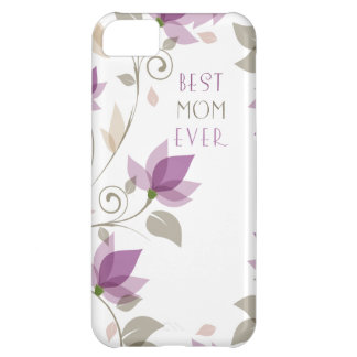 Abstract Floral Mother s Day Cover For iPhone 5C