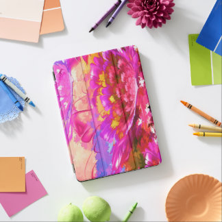 Abstract Floral Pad Air and iPad Air Smart Cover iPad Air Cover