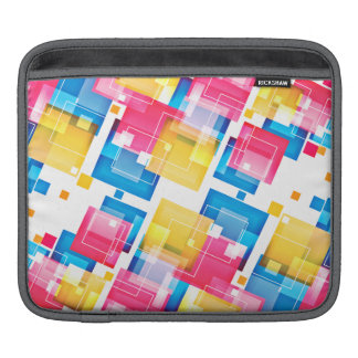 Abstract Floral Pattern iPad Sleeve