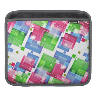 Abstract Floral Pattern iPad Sleeves