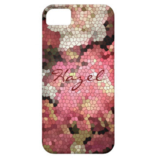 Abstract Floral Personalisable Case Case For iPhone 5/5S