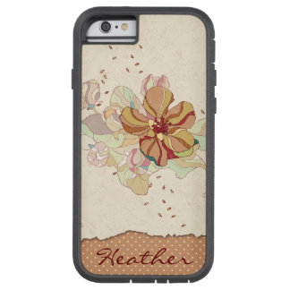 Abstract Floral Personalized Tough Xtreme iPhone 6 Case