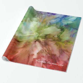 Abstract Floral Petals Tissue Paper