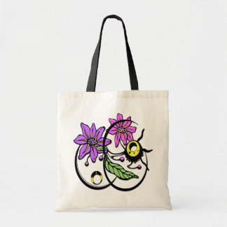 Abstract Floral - Purple & Pink Bag