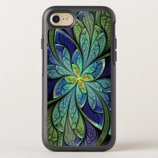 Abstract Floral Stained Glass La Chanteuse IV OtterBox Symmetry iPhone 8/7 Case