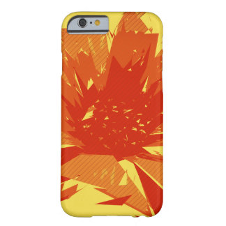 Abstract Floral Summer Duotone Barely There iPhone 6 Case