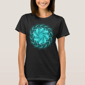 Abstract floral swirl. T-Shirt