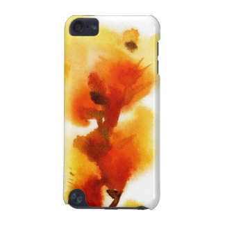 Abstract floral watercolor paintings 2 iPod touch (5th generation) cover