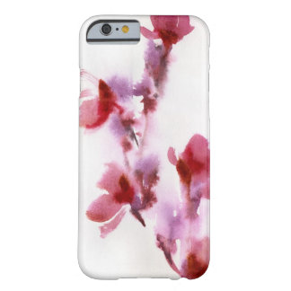 Abstract floral watercolor paintings 3 barely there iPhone 6 case