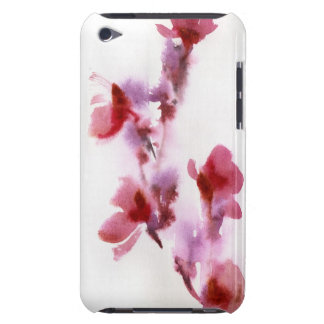 Abstract floral watercolor paintings 3 barely there iPod cover