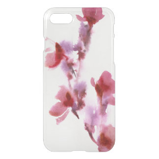 Abstract floral watercolor paintings 3 iPhone 8/7 case