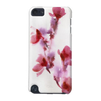 Abstract floral watercolor paintings 3 iPod touch 5G covers