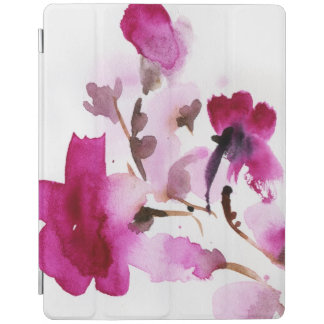 Abstract floral watercolor paintings 4 iPad cover