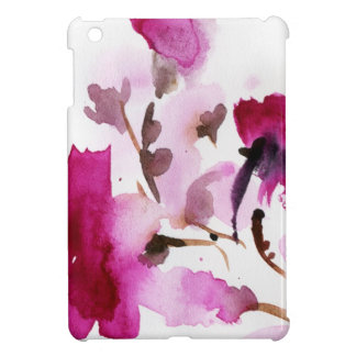 Abstract floral watercolor paintings 4 iPad mini covers