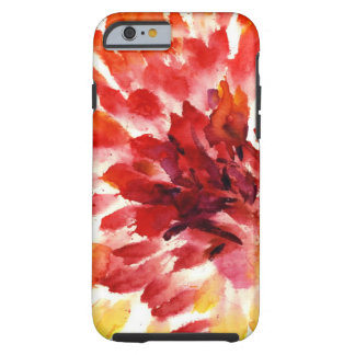 Abstract floral watercolor paintings 5 tough iPhone 6 case