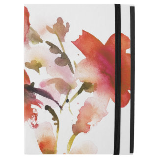 """Abstract floral watercolor paintings iPad pro 12.9"""" case"""
