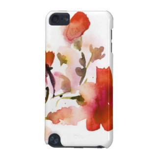 Abstract floral watercolor paintings iPod touch 5G covers