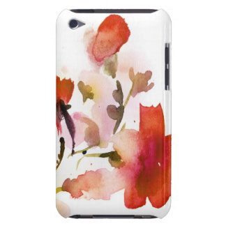 Abstract floral watercolor paintings iPod touch Case-Mate case