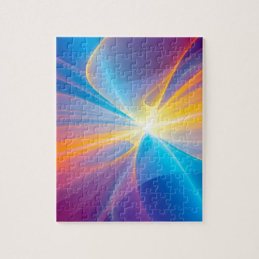 Abstract Flow Ribbon Puzzles