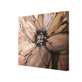 Abstract Flower art by carlouii Canvas Print