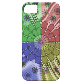 Abstract Flower design iPhone5 Case iPhone 5 Case