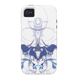 Abstract flower elements vibe iPhone 4 covers