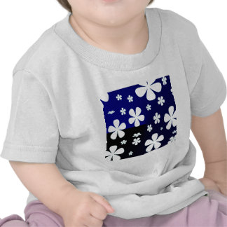 Abstract Flower Flower Pattern Tshirt