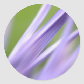 abstract flower, from the flower gift collection classic round sticker