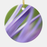 abstract flower, from the flower gift collection round ceramic decoration