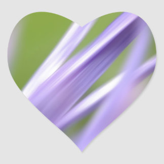 abstract flower, from the flower gift collection heart sticker