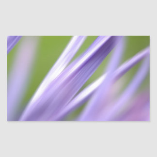 abstract flower, from the flower gift collection rectangular sticker