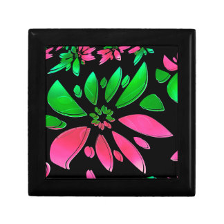 abstract flower gift box