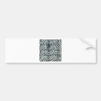 Abstract Flower Iamge Bumper Sticker