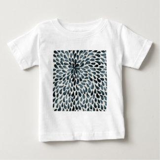 Abstract Flower Iamge Tee Shirt