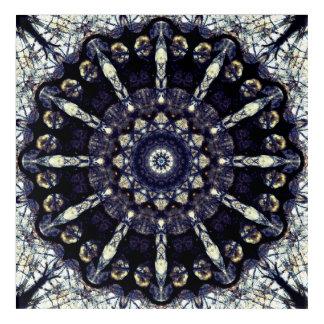 Abstract Flower Mandala Acrylic Wall Art