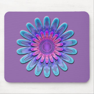 Abstract flower. mouse mat