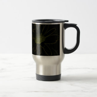 Abstract Flower Coffee Mugs