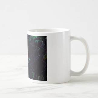 Abstract Flower Coffee Mugs