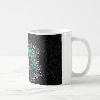 Abstract Flower Mug
