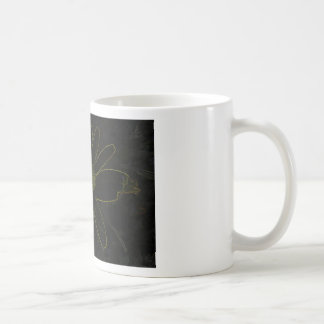 Abstract Flower Mugs