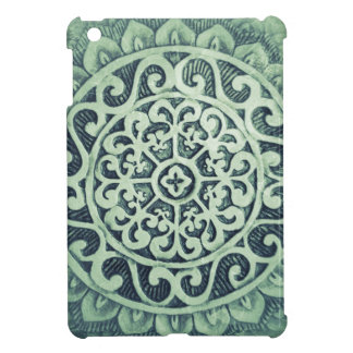 Abstract Flower Pattern Case For The iPad Mini