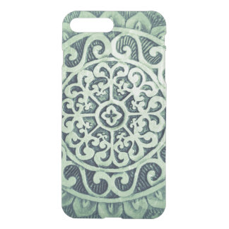 Abstract Flower Pattern iPhone 8 Plus/7 Plus Case