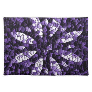 abstract flower placemat
