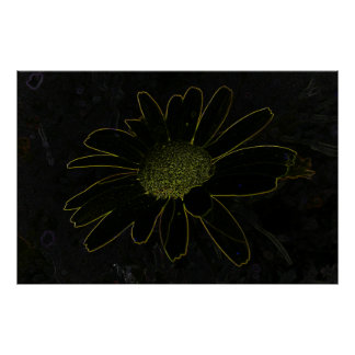 Abstract Flower Print