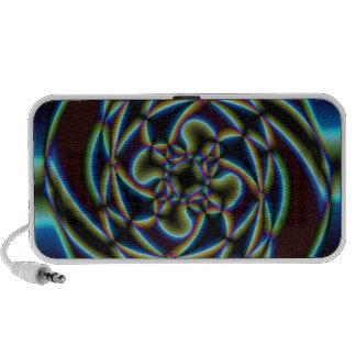 Abstract Flower Speaker System