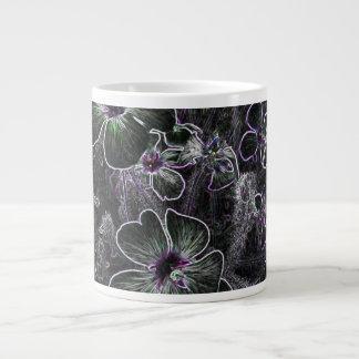 Abstract Flower Jumbo Mug